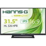 """31,5"""" (80,01cm) HannsG HL Serie HL326 HPD schwarz 1920x1080"""