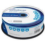 MediaRange BD-R 50GB 6x(25) BluRay Cake, Kapazität: 50GB