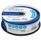 MediaRange MR515 BD-R 25GB 6x IW(25) BluRay Cake, Kapazität: 25GB