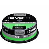 Intenso DVD-R 4.7 GB bedruckbar 25er Spindel (4801154)