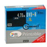 Intenso DVD+R 4.7 GB bedruckbar 10er Slimcase (4811652)