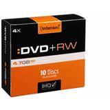 Intenso DVD+RW 4.7 GB 10er Slimcase (4211632)