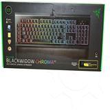 Razer BlackWidow Chroma V2 Razer Yellow Switch USB Deutsch schwarz