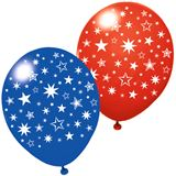 "Susy Card Luftballons ""Stars"", farbig sortiert"