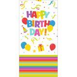 "Susy Card Tischdecke ""Happy Birthday"", 1,20 x 1,80 mm"