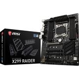 MSI X299 Raider Intel X299 So.2066 Quad Channel DDR4 ATX Retail