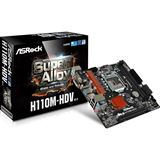 ASRock H110M-HDV R3.0 Intel H110 So.1151 Dual Channel DDR mATX Retail
