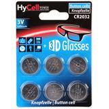 Ansmann HyCell CR2032, Mainboardbatterie Knopfzelle Lithium 3V, 6er