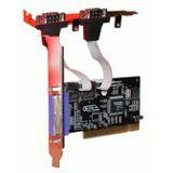Evertech 2x Serielle / 1x Parallele Schnittstelle PCI-Karte