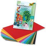 folia Tonpapierblock, DIN A3, 130 g/qm, 10 Blatt