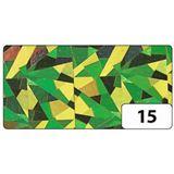 folia Holografie-Klebefolie, 400 mm x 1 m, Magic grün