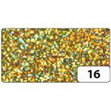 folia Holografie-Klebefolie, 400 mm x 1 m, Dots gold