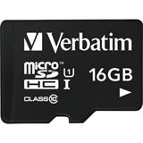 16 GB Verbatim Tablet microSDHC Class 10 Retail