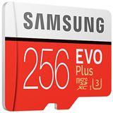 256 GB Samsung EVO Plus microSDXC Class 10 UHS-I U3 Retail inkl. Adapter auf SD