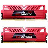 8GB GeIL EVO Potenza rot DDR4-2400 DIMM CL16 Dual Kit