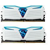 8GB GeIL EVO Super Luce blaue LED weiß DDR4-2400 DIMM CL16 Dual
