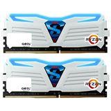 32GB GeIL Ryzen Super Luce blaue LED weiß DDR4-2400 DIMM Dual Kit
