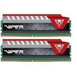 16GB Patriot Viper Elite rot DDR4-2400 DIMM CL15 Dual Kit