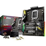 MSI X399 Gaming Pro Carbon AC AMD X399 So.TR4 Quad Channel DDR4 ATX