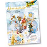 "Folia Adventskalender ""Weihnachtsdorf"", 24 Blatt"