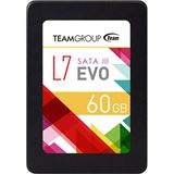 """60GB TeamGroup L7 EVO 2.5"""" (6.4cm) SATA 6Gb/s (T253L7060GTC101)"""