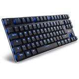 Sharkoon PureWriter TKL Kailh Blue USB Deutsch schwarz (kabelgebunden)