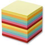 folia Zettelboxeinlage, 90 x 90 mm, 700 Blatt, farbig