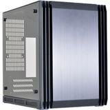 Lian Li PC-Q39G mit Sichtfenster Mini-ITX ohne Netzteil schwarz