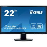 "21,5"" (54,61cm) iiyama ProLite E2283HS-B3 schwarz 1920x1080"