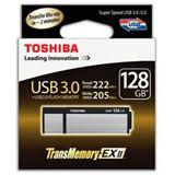 128 GB Toshiba TransMemory EX II schwarz/silber USB 3.0