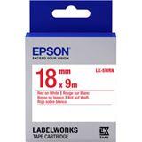 Epson TAPE - LK5WRN STD 18/9 rot/schwarz