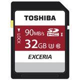 32 GB Toshiba Exceria N302 SDHC Class 10 UHS-I U3 Retail