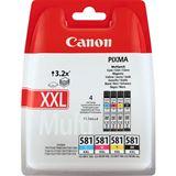 Canon Tinte CLI-581 XXL 1998C005 schwarz, cyan, magenta, gelb