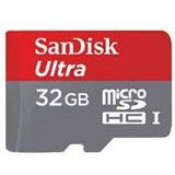 32 GB SanDisk Ultra microSDHC Class 10 UHS-I A1 Retail inkl. Adapter