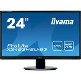 """23,8"""" (60,47cm) iiyama ProLite X2483HSU-B3 schwarz 1920x1080"""