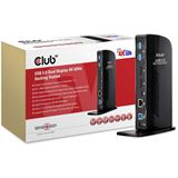 Club 3D SenseVision Dock Station - USB3.0 4K Dual Display Docking