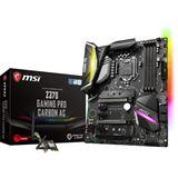 MSI Z370 GAMING PRO CARBON AC Intel Z370 So.1151 Dual Channel DDR4 ATX Retail