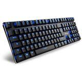 Sharkoon PureWriter Kailh Blue USB Deutsch schwarz (kabelgebunden)