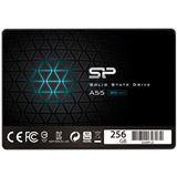 "256GB Silicon Power Ace A55 2.5"" (6.4cm) SATA 6Gb/s 3D-NAND TLC"