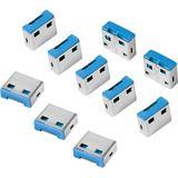 LogiLink USB Sicherheitsschloss, 10 Schlösser