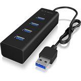 Icy Box Hub 4-Port USB 3.0 IB-HUB1409-U3 USB 3.0 Type-A retail