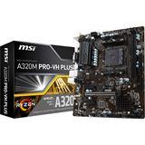 MSI A320M PRO-VH PLUS AMD A320 So.AM4 Dual Channel DDR4 mATX Retail