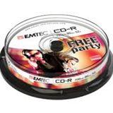 Emtec CD-R 700MB 10pcs 52x CB