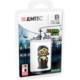 8 GB EMTEC Zomblings M344 Morticia 3D Figur USB 2.0