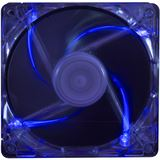 Xilence Transparent Blue LED 80x80x25mm 2500 U/min 25 dB(A) blau