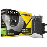 11GB ZOTAC GeForce GTX 1080 Ti Mini Arctic Storm Wasser PCIe 3.0 x16