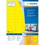 HERMA Universal-Etiketten SPECIAL, 45,7 x 21,2 mm, gelb