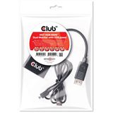 Club3D Multi Streaming Transport Hub 1xDP->2xHDMI SenseVis.