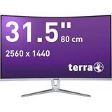 """31,5"""" (80,01cm) Terra Curved 3280W weiß/silber 2560x1440"""