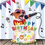 "SUSY CARD 3D Geburtstagskarte ""Funny Animals singender Hund"""